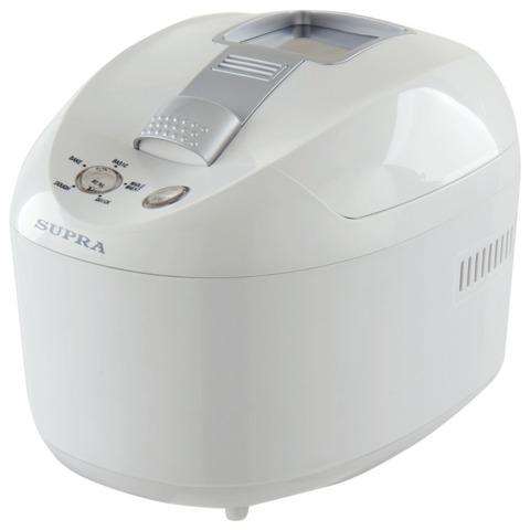 Хлебопечка SUPRA BMS-150, мощность 650 Вт, вес выпечки 500 г, 5 режимов приготовления, автоотключение, пластик, белая