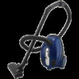 Пылесос SUPRA VCS-1400, с пылесборником, потребляемая мощность 1400 Вт, мощность всасывания 340 Вт, синий