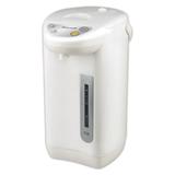 Чайник-термос MAXWELL-1754W, закрытый нагревательный элемент, объем 3,3 л, мощность 800 Вт, 3 режима, белый