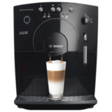 Кофемашина BOSCH TCA5309, объем 1,8 л, мощность 1400 Вт, давление 15 бар, емкость для зерен 250 г, пластик, черная