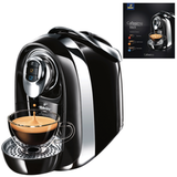 Кофемашина капсульная TCHIBO Cafissimo Compact Black, мощность 950 Вт, объем 1,1 л, черная