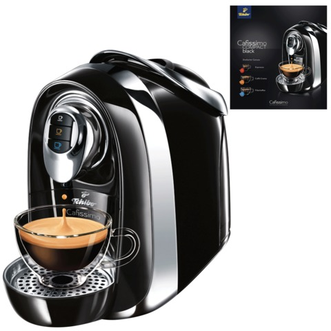 Кофемашина капсульная TCHIBO Cafissimo Compact Black, 950 Вт, объем 1,1 л, черная