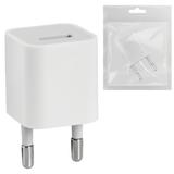 Зарядное устройство сетевое (220 В) DEFENDER EPA-01, 1 порт USB, выходной ток 1 А, белое, пакет