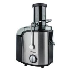 Соковыжималка SCARLETT SC-JE50S17, стакан 1 л, емкость для жмыха 1,5 л, мощность 1000 Вт, пластик/<wbr/>нержавеющая сталь