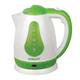 Чайник SCARLETT SC-EK18P30, закрытый нагревательный элемент, объем 1,8 л, мощность 1700 Вт, пластик, белый/<wbr/>зеленый