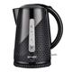 Чайник SCARLETT SC-EK18P33, закрытый нагревательный элемент, объем 2 л, мощность 2200 Вт, пластик, черный