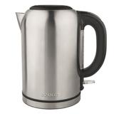 Чайник SCARLETT SC-EK21S33, закрытый нагревательный элемент, объем 1,7 л, мощность 2200 Вт, сталь