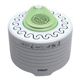 Сушка для продуктов SCARLETT SC-FD421003, мощность 250 Вт, 5 поддонов, максимальная загрузка 4 кг