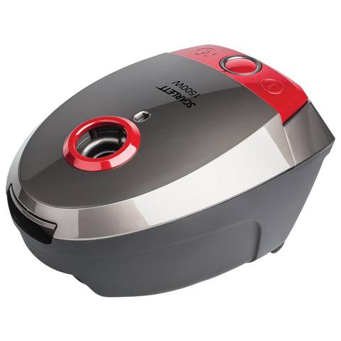 Пылесос SCARLETT SC-VC80B04, с пылесборником, потребляемая мощность 1500 Вт, мощность всасывания 300 Вт, серый