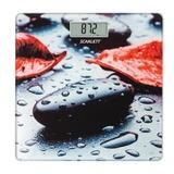 Весы напольные SCARLETT SC-BS33E052, электронные, максимальная нагрузка 180 кг, квадрат, стекло, с рисунком