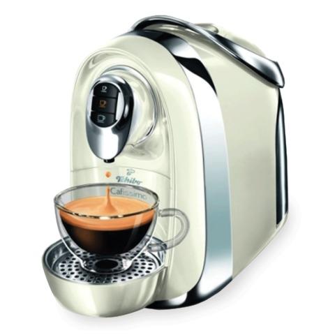 Кофемашина капсульная TCHIBO Cafissimo Compact White, мощность 950 Вт, объем 1,1 л, белая
