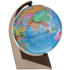 Глобус политический, диаметр 210 мм, рельефный (Россия)