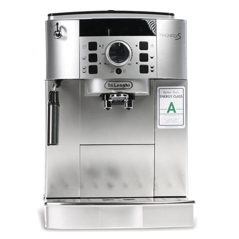 Кофемашина DELONGHI EСAM 22.110.SB, 1450 Вт, объем 1,8 л, емкость для зерен 250 г, ручной капучинатор, черная