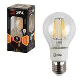 Лампа светодиодная ЭРА, 9 (90) Вт, цоколь E27, грушевидная, теплый белый свет, 30000 ч., F-LED А60-