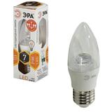 ����� ������������ ���, 7 (60) ��, ������ E27, «���������� �����», ������ ����� ����, 30000 �., LED smdB35-7w-827-E27-Clear
