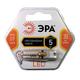 Лампа светодиодная ЭРА, 5 (50) Вт, цоколь G9, JCD, теплый белый свет, 30000 ч., LED smdJCD-5w-corn-827-G9