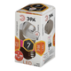 Лампа светодиодная ЭРА, 7 (60) Вт, цоколь E27, прозрачный шар, теплый белый свет, 30000 ч., LED smdP45-7w-827-E27-Clear