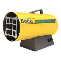 Тепловая пушка газовая BALLU BHG-20, 17000 Вт, 220 В, максимальный расход 1,6 кг/<wbr/>ч, желтая