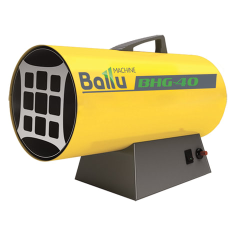 Тепловая пушка газовая BALLU BHG-40, 33000 Вт, 220 В, максимальный расход 3,2 кг/<wbr/>ч, желтая