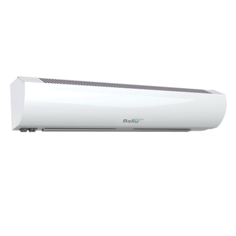 Тепловая завеса BALLU BHC-L10-S06, 6000 Вт, 220 В, настенная установка, управление на корпусе, пульт, белая