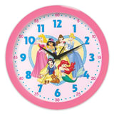 Часы настенные САЛЮТ П-Б1.1-359, круг, розовые с рисунком «Принцессы», розовая рамка, 28×28×4 см