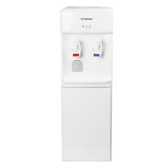Кулер для воды SONNEN FS-02, напольный, нагрев/<wbr/>компрессорное охлаждение, 2 крана, белый