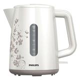 Чайник PHILIPS HD9304/<wbr/>13, закрытый нагревательный элемент, объем 1,5 л, мощность 2400 Вт, пластик, белый/<wbr/>бежевый