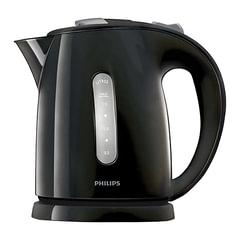 Чайник PHILIPS HD4646/<wbr/>20, закрытый нагревательный элемент, объем 1,5 л, мощность 2400 Вт, пластик, черный