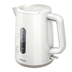 Чайник PHILIPS HD9310/<wbr/>14, закрытый нагревательный элемент, объем 1,6 л, мощность 2400 Вт, пластик, белый/<wbr/>бежевый