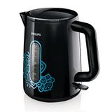 Чайник PHILIPS HD9310/<wbr/>93, закрытый нагревательный элемент, объем 1,6 л, мощность 2400 Вт, пластик, черный/<wbr/>голубой