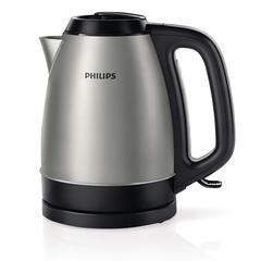 Чайник PHILIPS HD9305/<wbr/>21, закрытый нагревательный элемент, объем 1,5 л, мощность 2200 Вт, сталь, серебристый