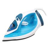 Утюг PHILIPS GC2040/<wbr/>70, 2100 Вт, антипригарное покрытие, самоочистка, голубой