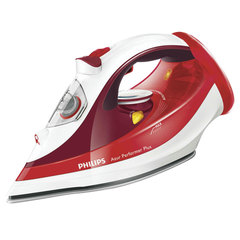 Утюг PHILIPS GC4595/<wbr/>40, 2600 Вт, беспроводной, керамическое покрытие, автоотключение, красный