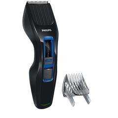 Машинка для стрижки волос PHILIPS HC3418/<wbr/>15, 13 установок длины, аккумулятор+сеть, черно-синяя