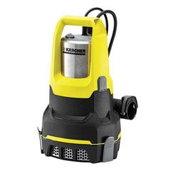 Насос дренажный KARCHER SP6 FlatInox, для чистой воды, 550 Вт, 14000 л/<wbr/>ч., автоматический режим, откачка до дна