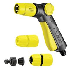 Пистолет для полива KARCHER (КЕРХЕР), регулировка напора, пластик, аксессуары в комплекте, 2.645-289.0