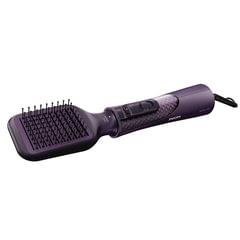 Фен-расческа PHILIPS HP8656/<wbr/>00, 1000 Вт, 2 режима, 5 насадок, ионизация, фиолетовый