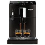Кофемашина PHILIPS HD8825/<wbr/>09, 1,8 л, 1800 Вт, 15 бар, емкость для зерен 250 г, авто капучинатор, черная
