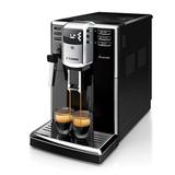 Кофемашина PHILIPS SAECO HD8912/<wbr/>09, 1850 Вт, объем 1,8 л, емкость для зерен 250 г, ручной капучинатор, черная