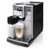 Кофемашина PHILIPS SAECO HD8918/<wbr/>09, 1,8 л, 1850 Вт, 15 бар, емкость для зерен 250 г, автокапучинатор, серебристый