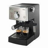 Кофеварка рожковая PHILIPS HD8325/<wbr/>79, 1,25 л, 950 Вт, 15 бар, ручной капучинатор, серебристая