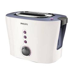 Тостер PHILIPS HD2630/<wbr/>40, 1000 Вт, 2 тоста, 7 режимов, подогреватель для булочек, металл, белый