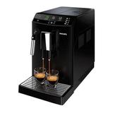Кофемашина PHILIPS HD8822/<wbr/>09, 1800 Вт, объем 1,8 л, емкость для зерен 250 г, капучинатор, черная
