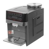 Кофемашина BOSCH TES60523RW, 1500 Вт, 1,7 л, емкость для зерен 300 г, автокапучинатор, титан
