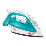 Утюг TEFAL Easygliss FV3910, 2200 Вт, металлокерамическое покрытие, самоочистка, голубой