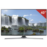 "Телевизор LED 40"" (101,6 см), SAMSUNG 40J6240, 1920×1080 FullHD, 16:9, Smart TV, Wi-Fi, 200Гц, HDMI, USB, черный, 11 кг"