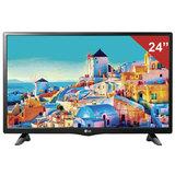 "Телевизор LED 24"" (60,96 см), LG 24LH451U, 1366×768 HD Redy, 16:9, 50 Гц, HDMI, USB, черный, 3,4 кг"