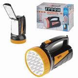 Фонарь светодиодный «Трофи» аккумуляторный TSP19, 19+18xLED, 4V2Ah, заряд от 220 V