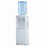 Кулер для воды AEL LD-AEL-718c, напольный, нагрев/<wbr/>охлаждение, шкафчик 9 л, 2 крана, белый