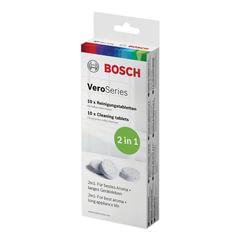 Таблетки BOSCH, для очистки кофемашин и кофеварок, комплект 10 шт.